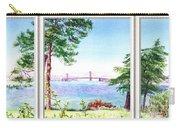 Golden Gate Bridge View Window Carry-all Pouch