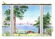 Golden Gate Bridge View Window Carry-all Pouch