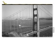 Golden Gate In Bw Carry-all Pouch