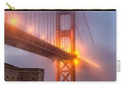 Golden Gate In Fog Carry-all Pouch
