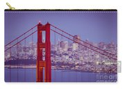 Golden Gate Twilight Carry-all Pouch