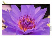Golden Glow Of The Lavender Lotus Carry-all Pouch