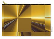 Golden Graphic Carry-all Pouch