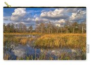 Golden Grasses Carry-all Pouch by Debra and Dave Vanderlaan