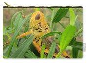 Golden Grasshopper Carry-all Pouch