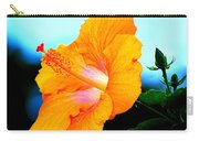 Golden Hibiscus Carry-all Pouch