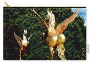 Golden Horses Carry-all Pouch