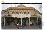 Golden Horseshoe Frontierland Disneyland Carry-all Pouch