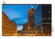 Golden Hour Milwaukee River Carry-all Pouch