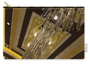 Golden Jewels And Gems - Sparkling Crystal Chandeliers  Carry-all Pouch