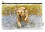 Golden Labrador Carry-all Pouch