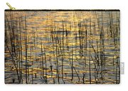 Golden Lake Ripples Carry-all Pouch by James BO  Insogna