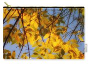 Golden Leaf Cascade Carry-all Pouch