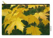 Golden Leaves Floating Carry-all Pouch