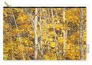 Golden Leaves In Autumn Abstract Carry-all Pouch