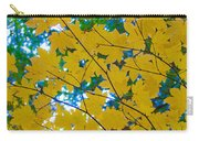 Golden Leaves Of Autumn Carry-all Pouch