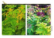 Golden Leaves To Purple Seeds Carry-all Pouch