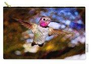 Golden Light Hummingbird Flight Carry-all Pouch