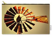 Golden Light Windmill Carry-all Pouch by Marty Koch