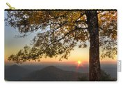 Golden Lights Carry-all Pouch by Debra and Dave Vanderlaan