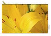 Golden Lilies Carry-all Pouch