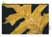 Golden Oak Leaf Carry-all Pouch