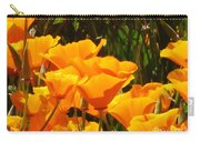 Golden Orange Carry-all Pouch