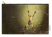 Golden Orb Weaver Carry-all Pouch