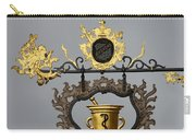 Golden Pharmacy Sign Carry-all Pouch