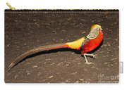 Golden Pheasant Male Carry-all Pouch