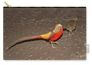 Golden Pheasant Pair Carry-all Pouch
