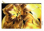 Golden Pineapple By Jammer Carry-all Pouch