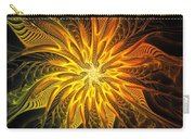 Golden Poinsettia Carry-all Pouch