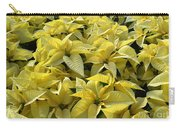 Golden Poinsettias Carry-all Pouch