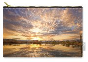 Golden Ponds Scenic Sunset Reflections 2 Carry-all Pouch