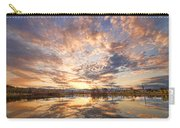 Golden Ponds Scenic Sunset Reflections 3 Carry-all Pouch
