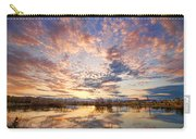 Golden Ponds Scenic Sunset Reflections 4 Carry-all Pouch