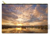 Golden Ponds Scenic Sunset Reflections 5 Carry-all Pouch