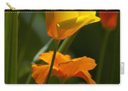Golden Poppy Floral  Bible Verse Photography Carry-all Pouch