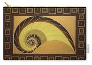 Golden Ratio Spiral Carry-all Pouch