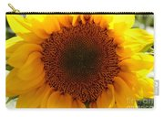 Golden Ratio Sunflower Carry-all Pouch by Kerri Mortenson