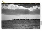 Golden Rays At Cape May Bw Carry-all Pouch