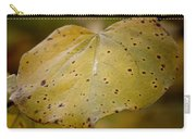 Golden Redbud Heart Carry-all Pouch