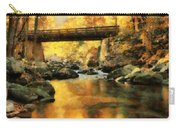 Golden Reflection Autumn Bridge Carry-all Pouch
