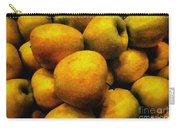 Golden Renaissance Apples Carry-all Pouch