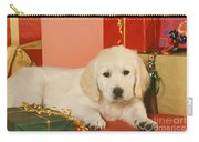 Golden Retriever Amongst Presents Carry-all Pouch