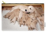 Golden Retriever Dog, Litter Suckling Carry-all Pouch
