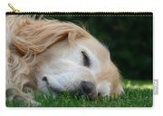 Golden Retriever Dog Sweet Dreams Carry-all Pouch