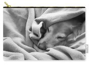 Golden Retriever Dog Under The Blanket Carry-all Pouch