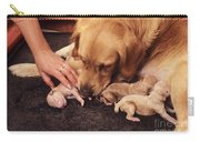 Golden Retriever Dog Whelping Carry-all Pouch